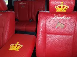Faux Ostrich Leather Upholstery Automobiles