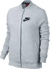 nike women s sportswear rally varsity fleece jacket dick s