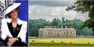 Althorp Burials by Princess Diana U0027s Childhood Home Countess Spencer Renovates