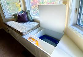 Built In Bench Seat With Storage Bay Window Seats For The Modern Home