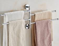 Bathroom Towel Holder Bekith Towel Rack Holder Wall Hanger Stainless Steel Swivel Bar
