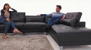 sofa schweiz sofa martinotti schweiz camilla schwarz kunstledersofa