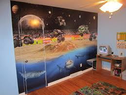 wall murals wrapthatcar child s room monster truck wall mural