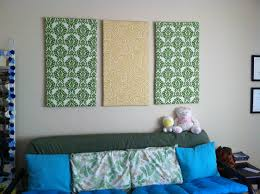 diy fabric wall art crafting is sanity after