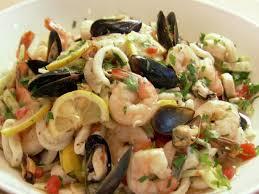 ina garten s shrimp salad barefoot contessa italian seafood salad recipe ina garten food network