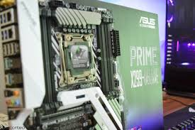 intel core x cpu family review on asus prime x299 motherboard