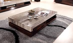 very low coffee table furniture ultra modern low profile coffee table with beige leather