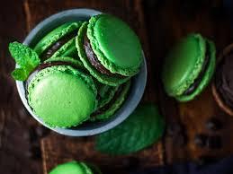 mint chocolate french macarons u2013 cookies for england