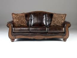 faux leather sofa sleeper couch cushion covers bed with storage
