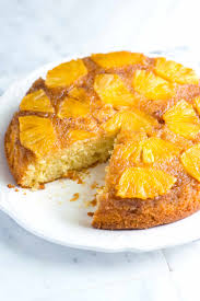 fresh pineapple upside down cake recipe