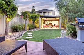 Backyard Grill Area by Outdoor Seating Area Ideas