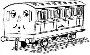 printable coloring pages train