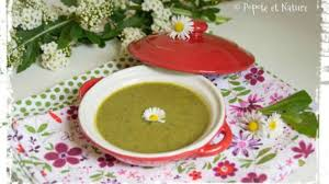 cuisiner des navets blancs soupe de fanes de navets blancs recette par popote et nature