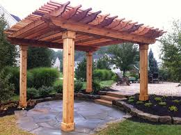 How To Build A Covered Pergola by Outdoor Pergolas Cedar Pergola 9 24 12 Jpg Pergolas
