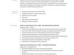 receptionist resume templates receptionist resume summary receptionist resume templates resume