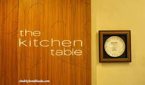 Chubby Botak Koala Singapore Food Blog Travel And Lifestyle - Buffet kitchen table