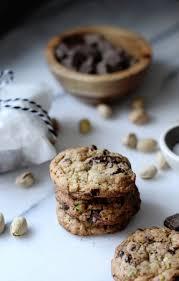 dark chocolate pistachio cookies and my british american christmas