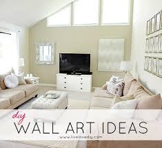 Living Room Wall Art Ideas Livelovediy Diy Wall Art Ideas U0026 Living Room Updates