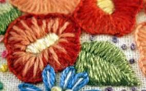 Fish Bone Stitch Embroidery Tutorials Fishbone Stitch Tutorial Needlenthread