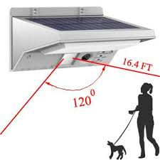 How Long To Charge Solar Lights - solar lights outdoor motion sensor ithird 21 led 330lm solar