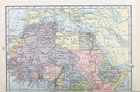 Map Of Western Africa by Old Sahara Maps Sahara Overland