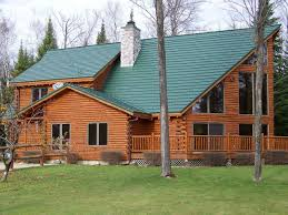 Metal Roof On Houses Pictures by Houses With Green Metal Roofs