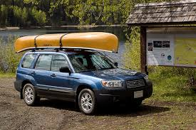 Subaru Forester 2014 Crossbars by Canoe Up Top Subaru Forester Owners Forum