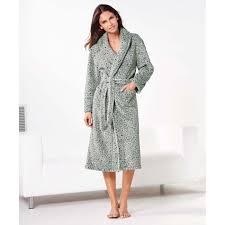 robe de chambre leopard 2017 robe de chambre polaire léopard femme venca imprimé vente