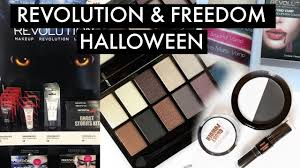 Halloween Eye Makeup Kits by Makeup Revolution Halloween And Freedom Sfx Range Youtube