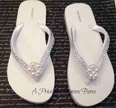 wedding u0026 bling flip flops womens bridal