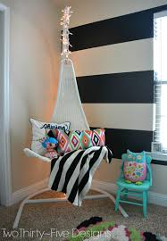 Hanging Chair For Girls Bedroom by The Little U0027s Room Two Thirty Five Designs