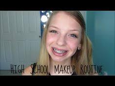 high makeup routine