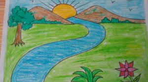 draw a landscape lessons tes teach