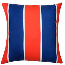 Red Decorative Pillow Nautical Pillows For Beach Decor Decorative Pillows