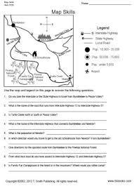printable map key mapskillslarge jpg