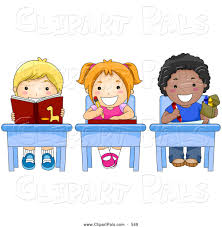 Student Desk Clipart Royalty Free Stock Friend Designs Of Boys