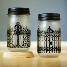 Mason Jar Halloween Lantern Mason Jar Halloween Diy Projects Popsugar Home