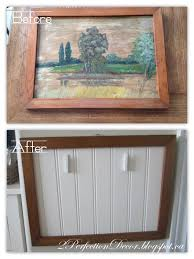 2perfection decor vintage frames diy
