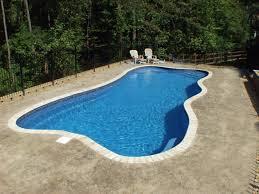 custom fiberglass pools lagoon paradise bay custom pool