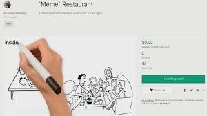 Design A Meme - meme restaurant youtube