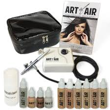 Makeup That Looks Airbrushed Amazon Com Art Of Air Professional Airbrush Cosmetic Makeup