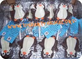 edible party favors edible penguin birthday party favors thepartyanimal