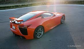 orange lexus lfa lexus lfa in sunset orange lexus enthusiast