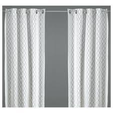 Panel Curtains Ikea Curtains Ikea Curtains Linen Decor Henny Rand Curtains 1 Pair Ikea