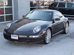 Porsche 911 Black - 2005 porsche 911 carrera s coupe in basalt black metallic 741414