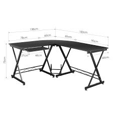Schmaler Arbeitstisch Amazon De Homfa Computertisch Computerschreibtisch Bürotisch