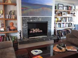stone u0026 fire granite on your fireplace
