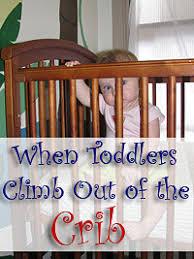 Cribs Mattress Jailbreak Toddlers Climbing Out Of Cribs Mattress Directly On