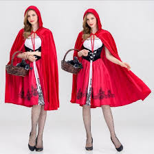 Red Riding Hood Halloween Costumes Dreamgirl Women U0027s Red Riding Hood Costume Halloween Cosplay