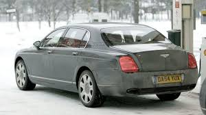bentley flying spur modified spy photos bentley continental gt and flying spur facelift